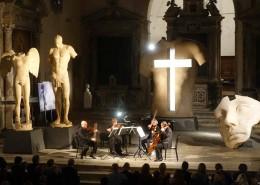 Uno dei momenti musicali nella Chiesa S. Agostino